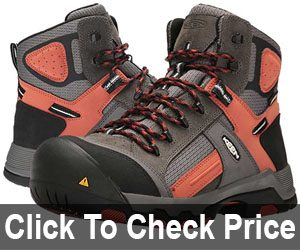 KEEN Utility Davenport Mid Waterproof Industrial and Construction Shoe