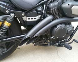 Yamaha Bolt Exhaust